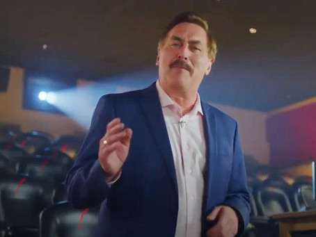 "Message from Mike Lindell about ""Church People"""