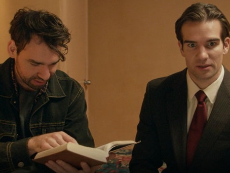"""Review:  """"Gun and a Hotel Bible"""" a Witty & Gritty Two-Man Show"""