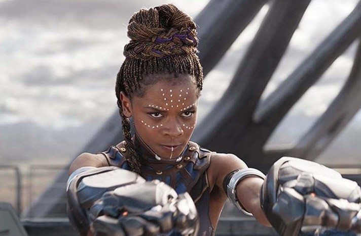 """Letitia Wright appears as Shuri in a scene from the 2018 hit movie """"Black Panther."""""""