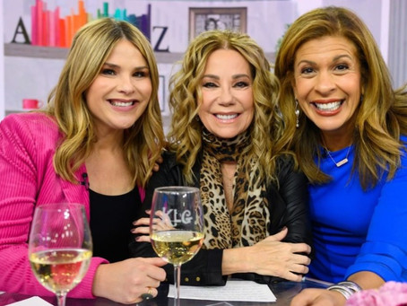 """Kathie Lee Gifford Drops in at """"Today"""""""