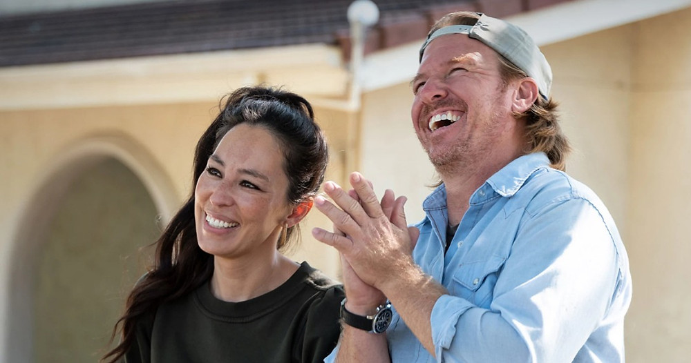 """Joanna and Chip Gaines in a scene from """"Fixer Upper:  Welcome Home."""""""