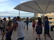 Sunshine Coast Dancing on the rooftop