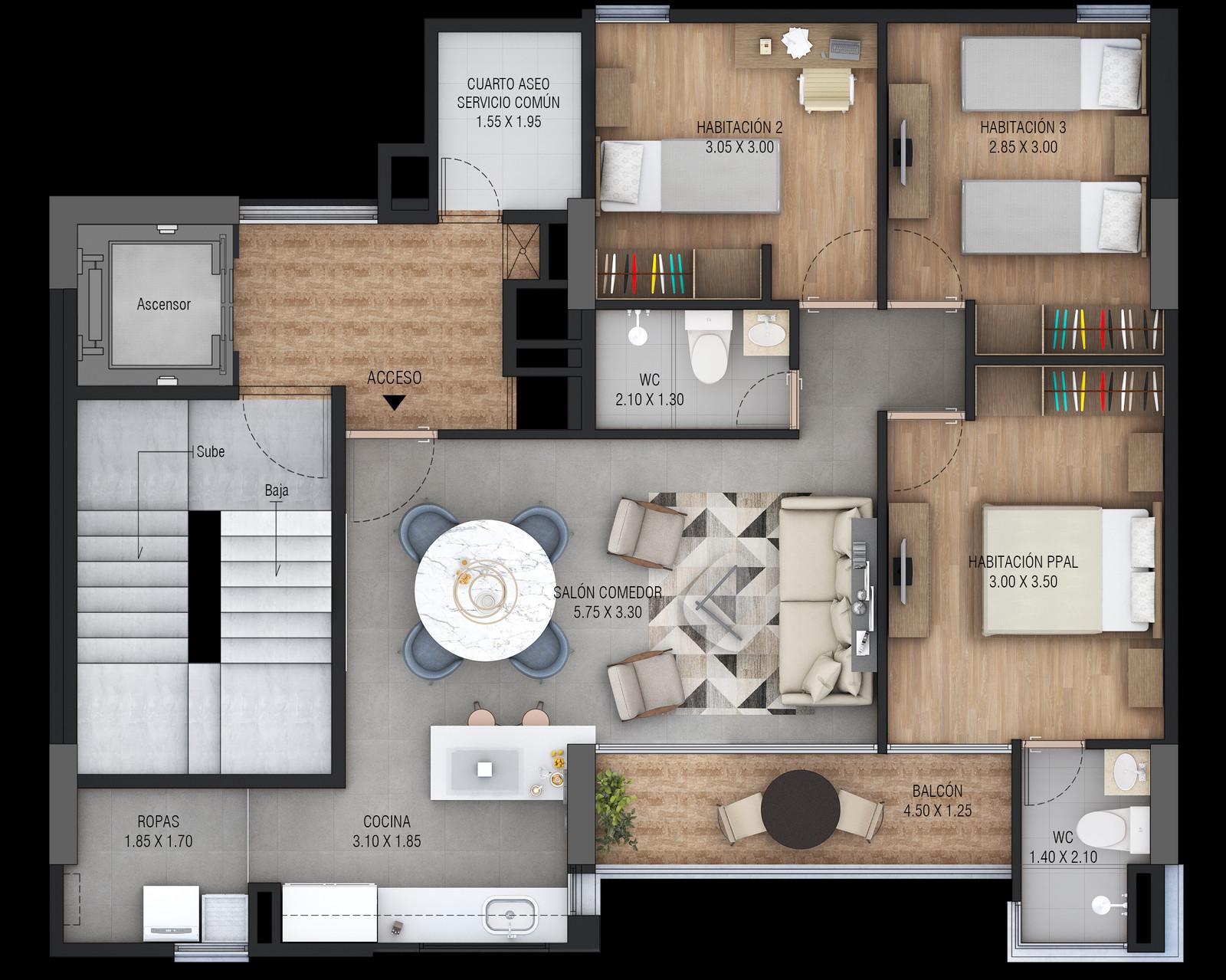 Fullscreen Page Arquitectista