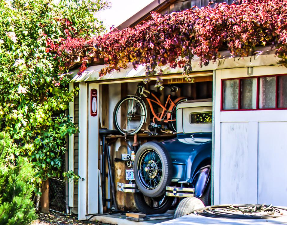 Classic in Garage