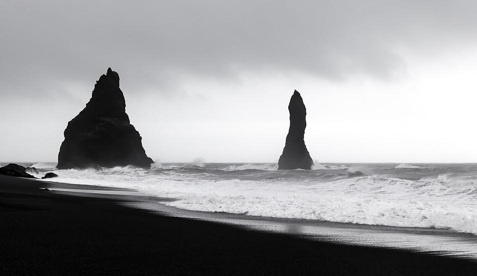 Black sand beach - Iceland