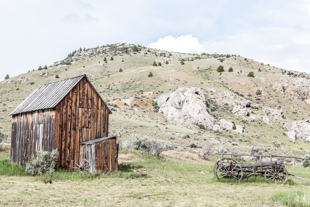 Bannack Shack & Wagon