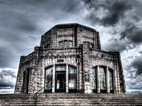 Fine Art-Crown Point Vista House-Columbia River Gorge, Oregon