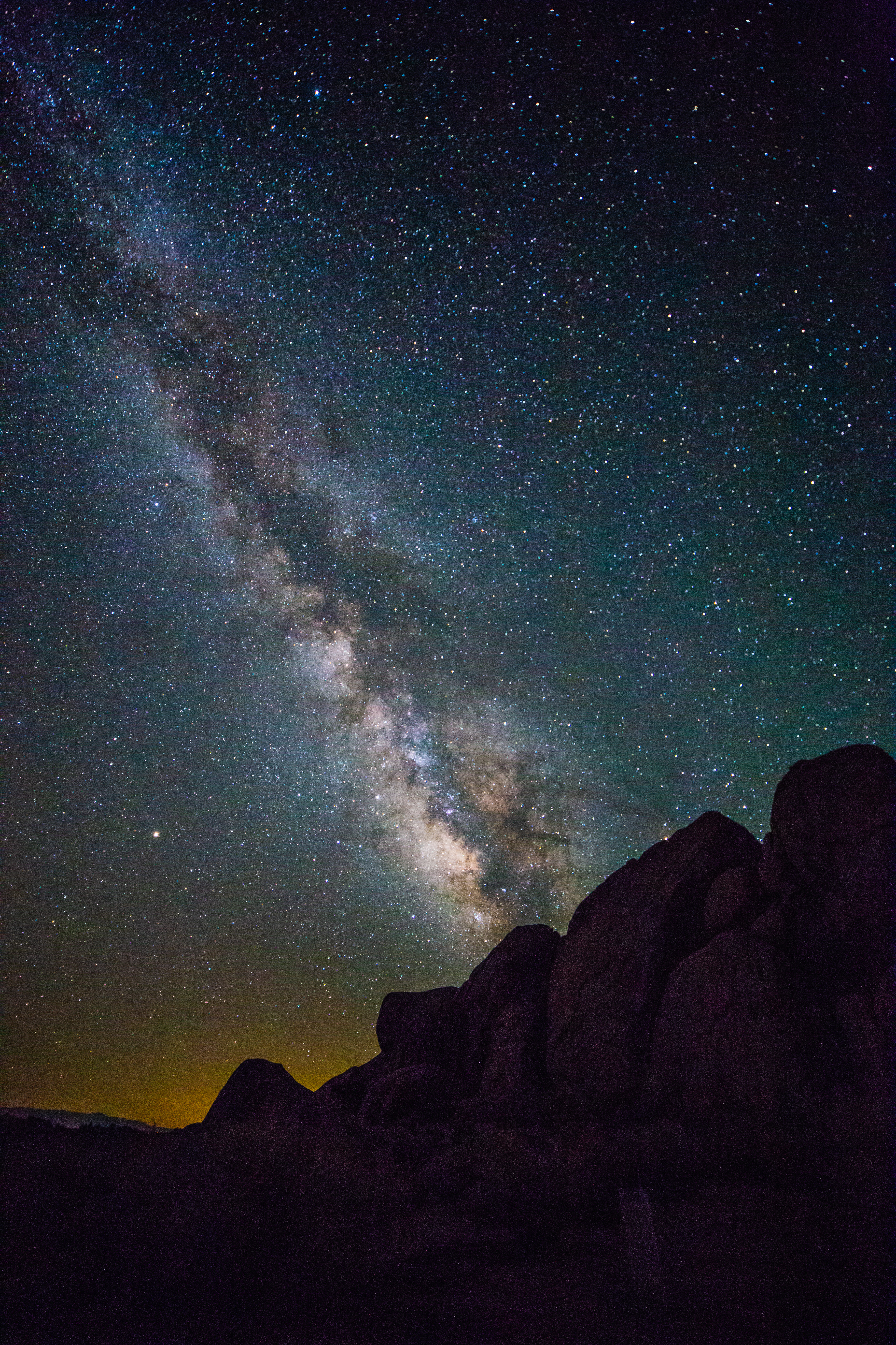 Milky Way Galaxy - Alabama Hills