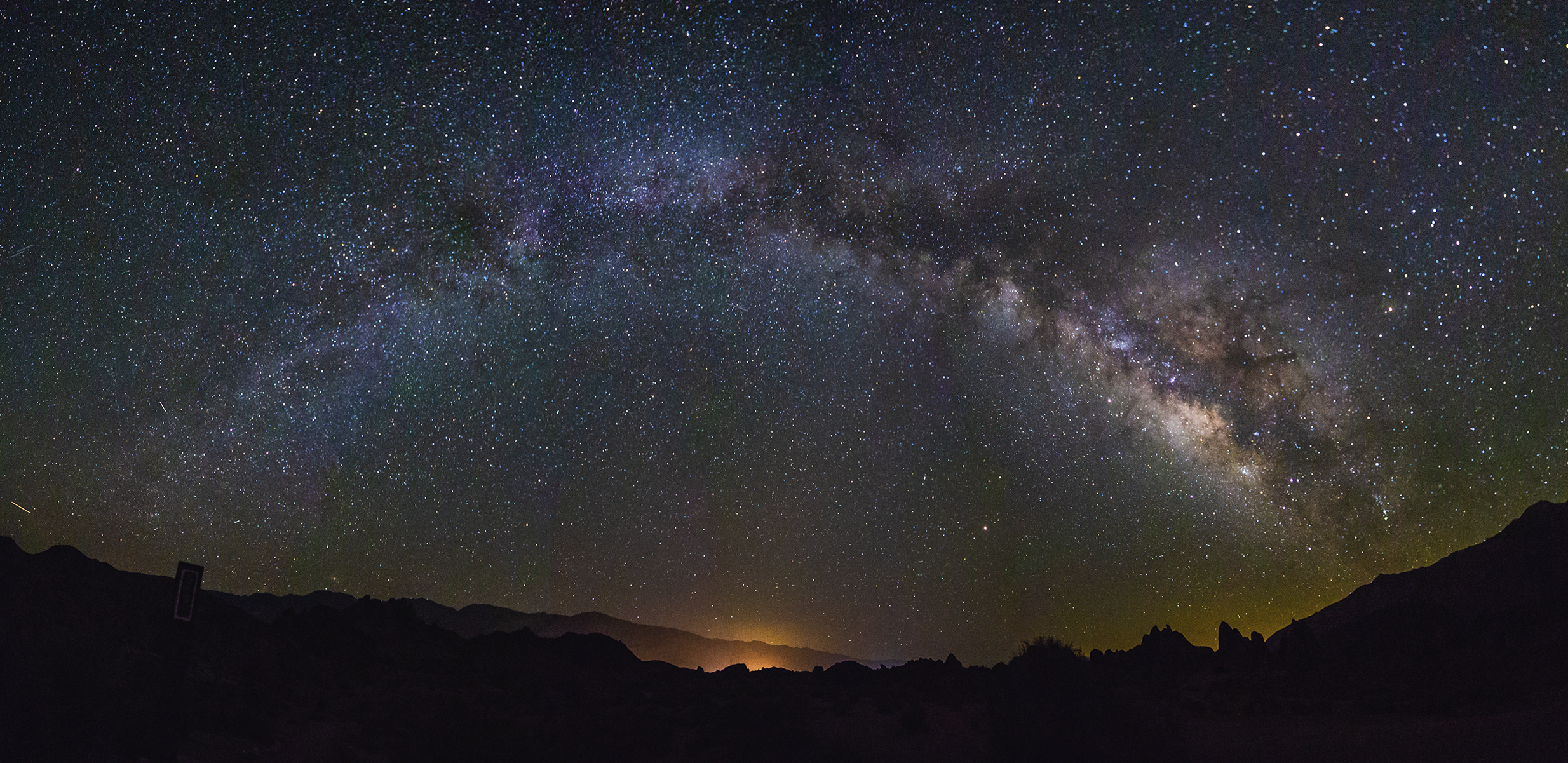 Milky Way Galaxy Panorama