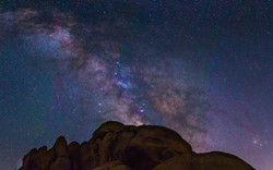 Milky Way Galaxy - Joshua Tree
