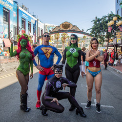 Comic-Con Superheroes