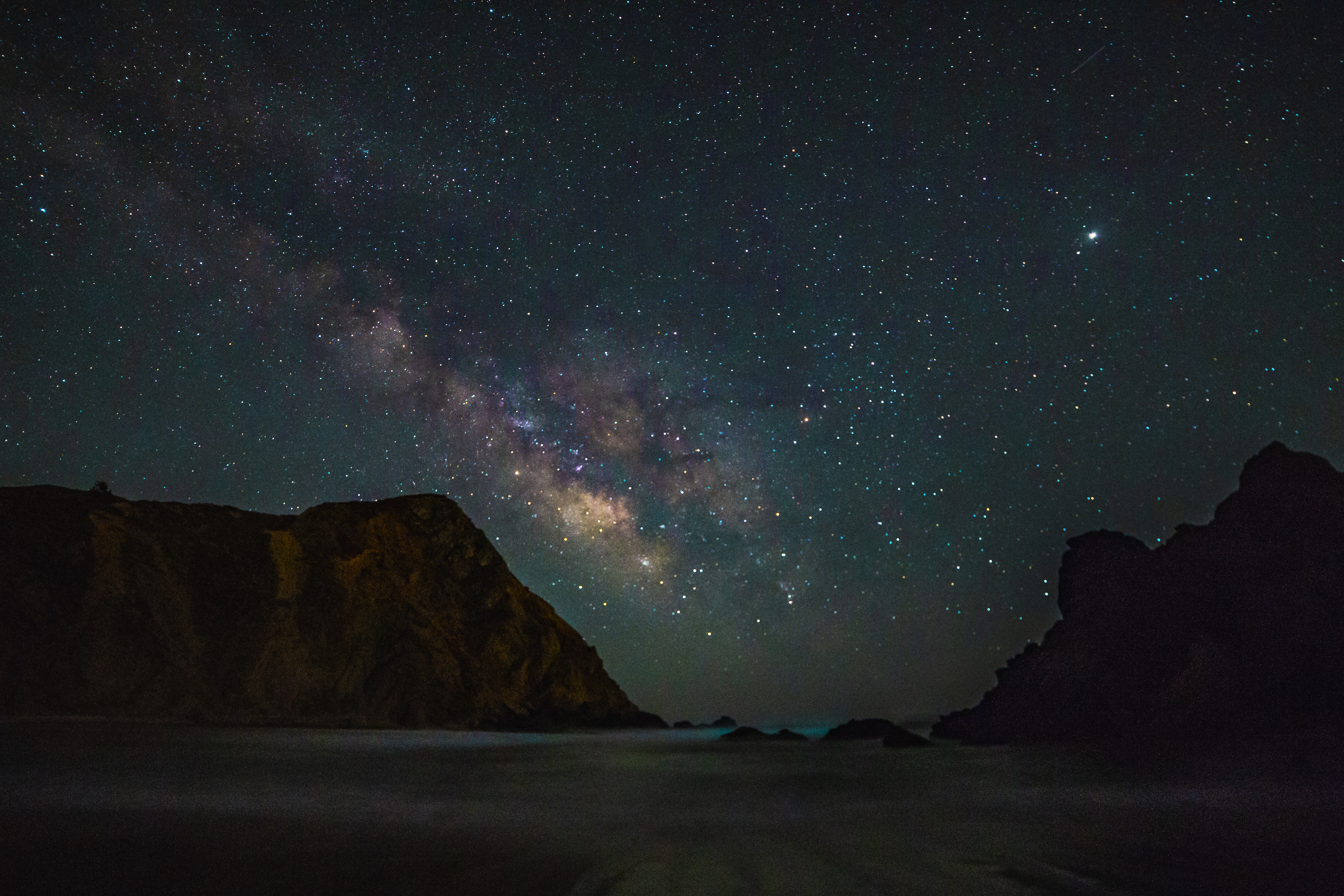 Core of the Milky Way - Big Sur, CA