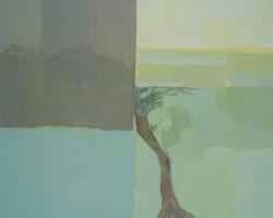 L'olivier. format 130x160 cm