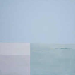 Rivage. format 150x150 cm