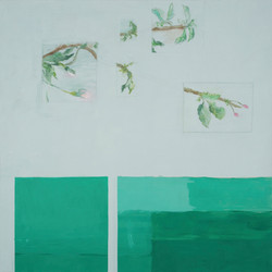 Printemps. format 150x150 cm