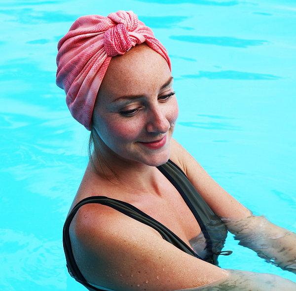 Bonnet de bain écailles (2 couleurs)