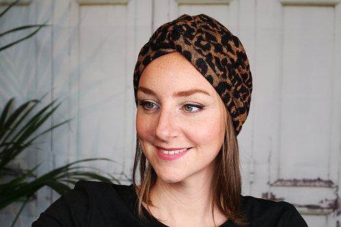 """Turban Bonnet """"Jane"""" (Version croisée)"""