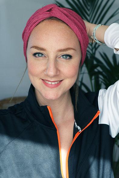 Bandeau ou turban bonnet de sport (2 couleurs)