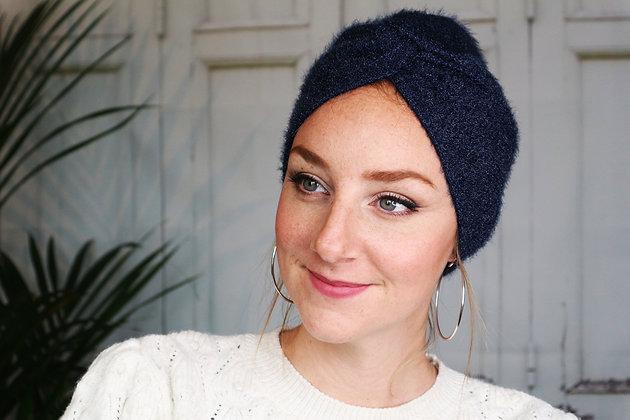 """Turban Bonnet """"Célia"""" (Version croisée)"""