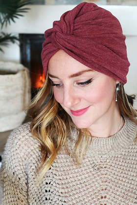 """Turban Bonnet croisé """"Rosalie"""""""