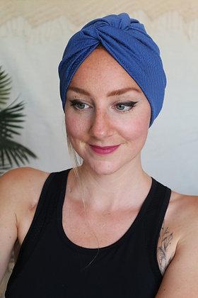 Bonnet de sport bleu