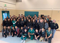 Pre-HOSA Competition with Palmdale High School & Venice High School 2019