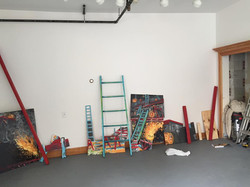 Levels Installation in process