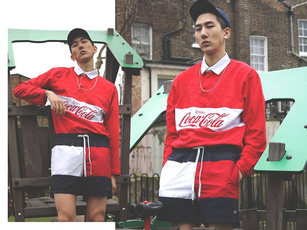 fashion editorial london, asian model, sportswear, contributor magazine