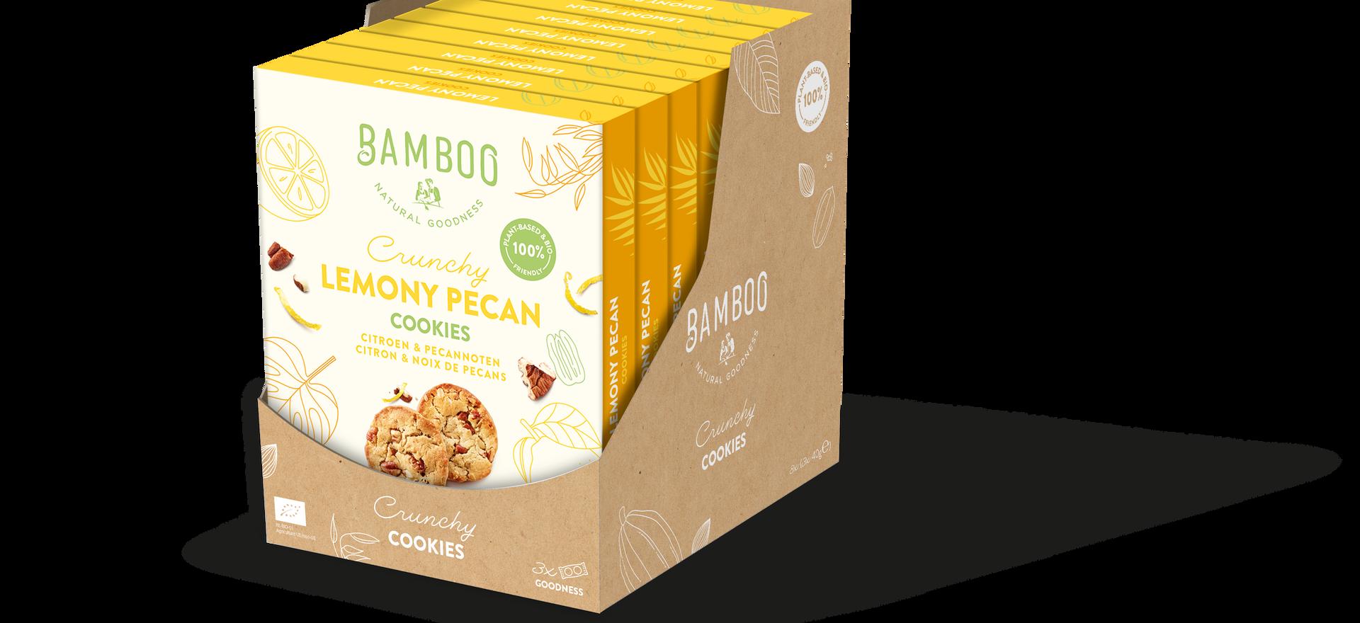 Bamboo Display Multi Lemony Pecan simu.p