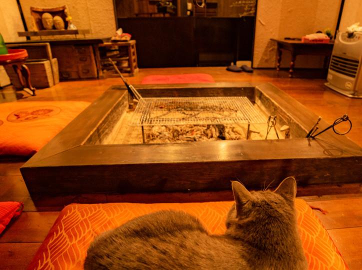 囲炉裏スペース