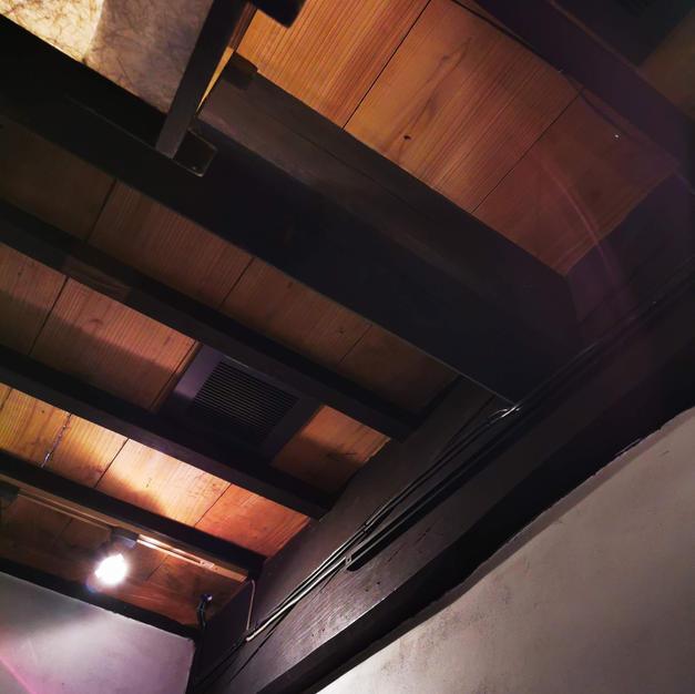 天井に換気扇