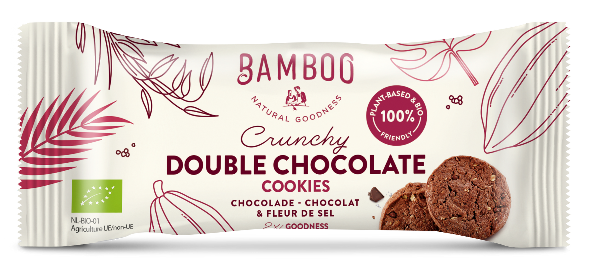 Bamboo Portion pack Double Choco simu.pn