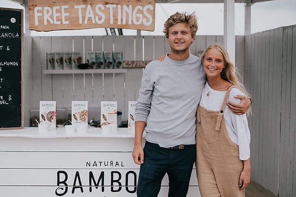 bamboo granola story Charlotte et Lionel