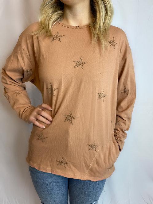 Cinnamon Star Long Sleeve Shirt