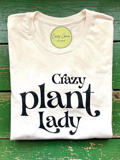 Crazy Plant Lady Tee