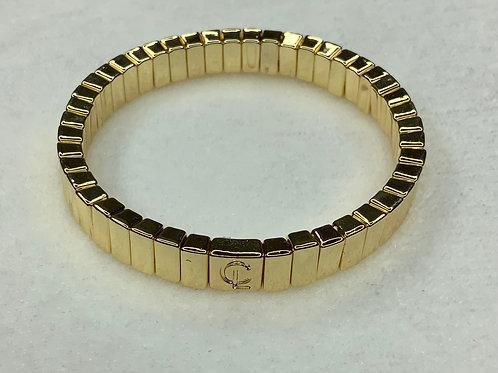 All Gold Mini Tile Bracelete