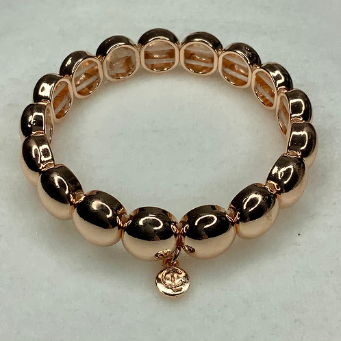 Rose Gold Bubble Bracelet