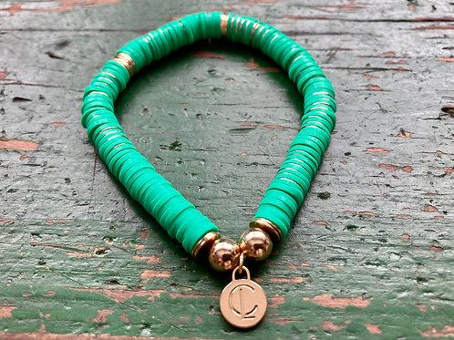 Kelly Green Seaside Bracelet