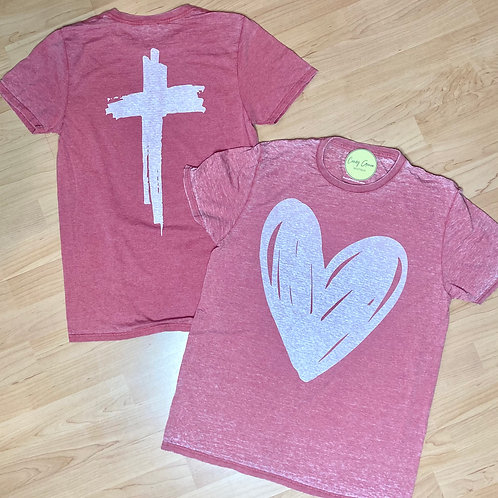 "God Is Love ""Heart"" Tee"