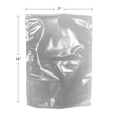 7 X 14 VACUUM-SHRINK POUCH