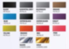 Metallic Colours, Chrome, FullDip, Full Dip, Liquid Wrap, Spray Wrap, Peelable Paint