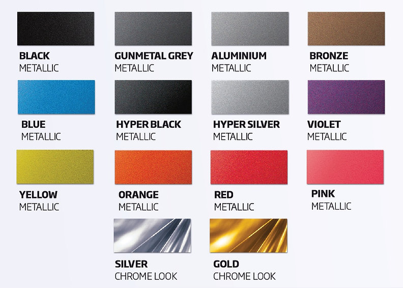 Metallic Colours, Chrome, FullDip, Full Dip, Liquid Wrap, Spray Wrap, Peelable Paint