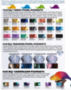 Pigment, FullDip, Full Dip, Liquid Wrap, Spray Wrap, Peelable Paint, Chameleon Pigments, Colour Shifting Pigments, Diamond Pearl Pigments, Ghost Pearl Pigments, Glass Flakes, Candy Pigments