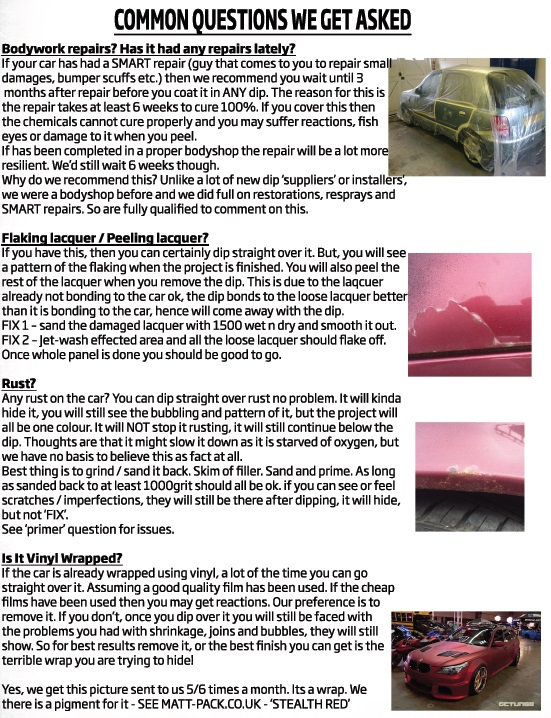 FullDip, Liquid Vinyl, Peelable Paint, Car, Spray Wrap, Bodywork, Repairs, Peeling Lacquer, Flaking Lacquer, Car Rust, Vinyl Wrapped