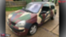 Military Colours, Camo Colours, FullDip, Full Dip, Liquid Wrap, Spray Wrap, Peelable Paint, Clio, Camo Clio, Matt Pack