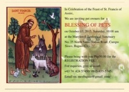 Blessing of Pets 2015