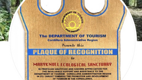 Department of Tourism Awards Maryknoll Ecological Sanctuary  1999