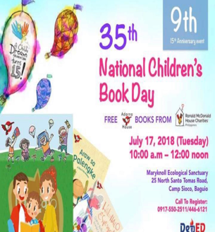 National Children's Book Day 2018