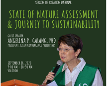 Season of Creation 2020 - State of Nature Assessment & Journey to Sustainability