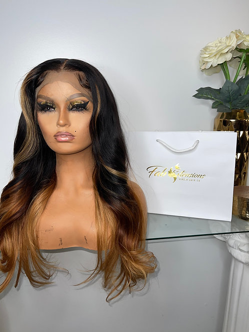 "24"" Full lace wig"